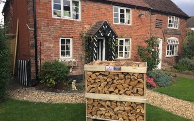 Get ready for winter with our kiln dried hardwood logs