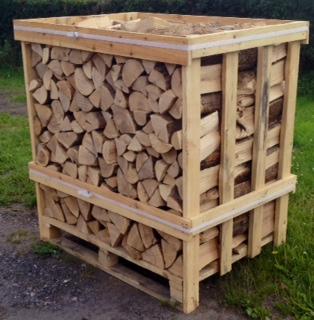 Lichfield Standard Crate of Kiln Dried Logs