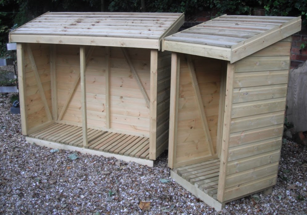 Log Stores for Kiln Dried Firewood in Lichfield