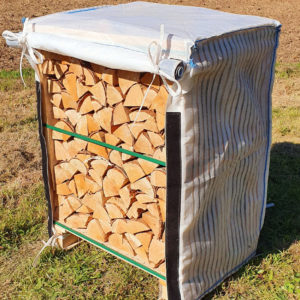 Mini Crate Cover of Kiln Dried Logs