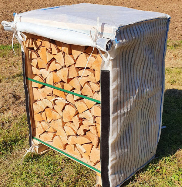 Mini Crate Cover of Kiln Dried Logs