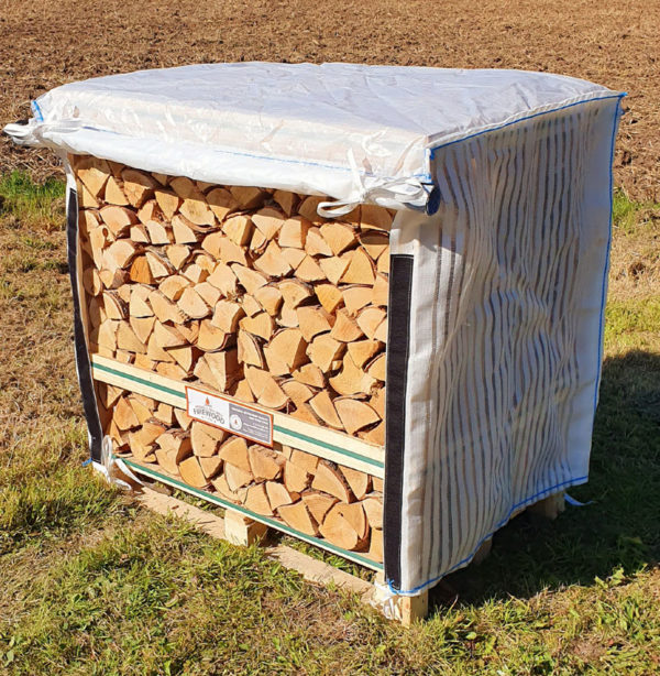 Standard Crate Cover of Kiln Dried Logs