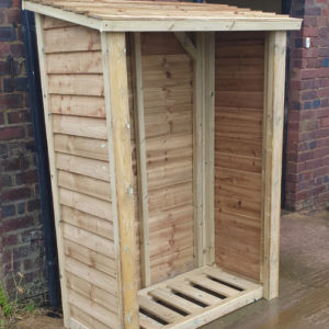 Large log store for sale