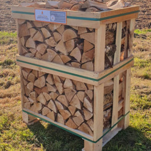 mini crate of kiln dried logs lichfield