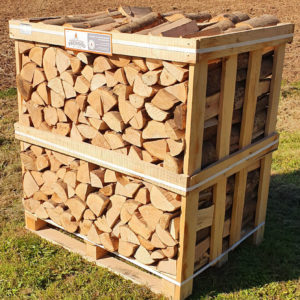 Kiln Dried Ash Logs - Standard Crate