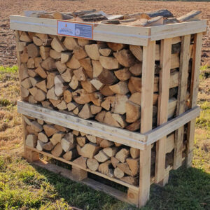 Kiln Dried Hornbeam Logs Crate