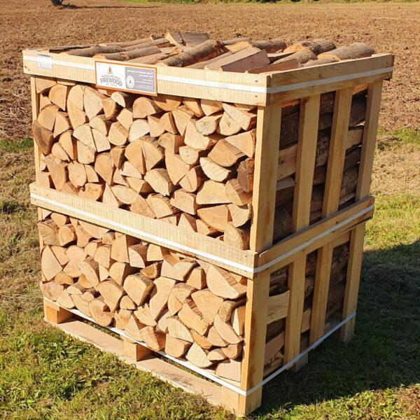 Kiln Dried Ash Logs - Standard Crate