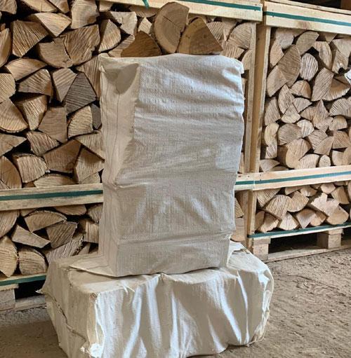 Kiln Dried Ash Logs - Boot Bag