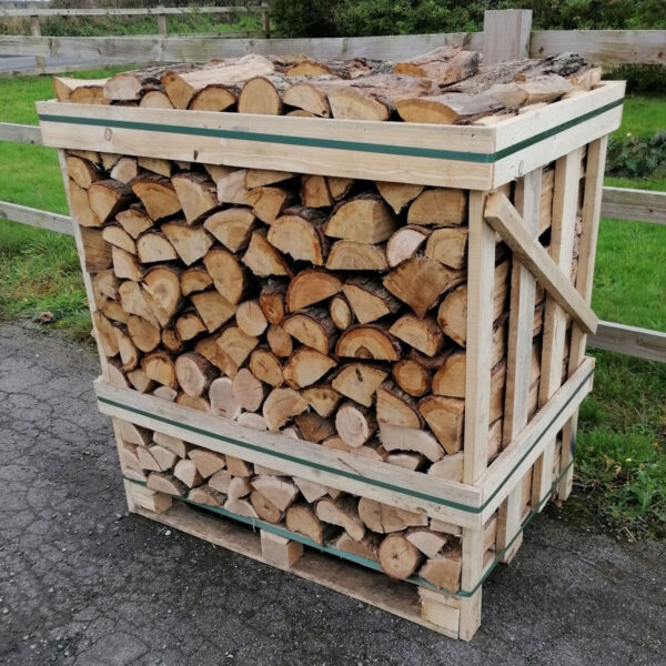 KILN DRIED OAK LOGS - STANDARD CRATE